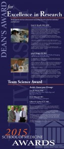 Awards Banners 2015 Excellence Research
