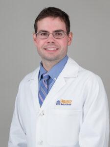 male doctor white coat