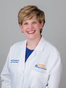 female doctor white coat
